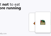 what not to eat before running