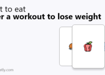 what to eat after a workout to lose weight